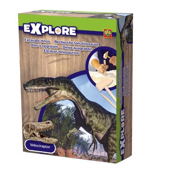 SES 25022-2 - Explore - Dinos ausgraben - Velociraptor