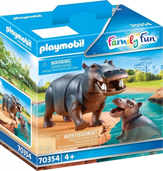 PLAYMOBIL® 70354 - Family Fun - Flußpferd mit Baby