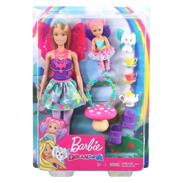 Mattel GJK50 - Barbie - Dreamtopia - Elfenpuppe, Set