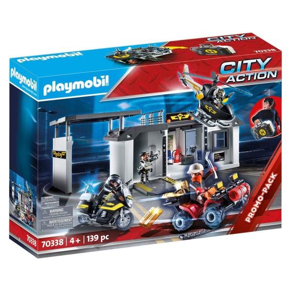 PLAYMOBIL® 70338 - City Action - Große Mitnehm SEK Zentrale