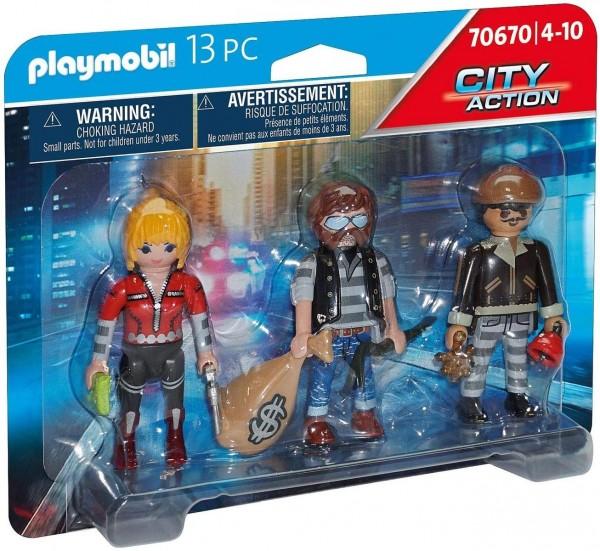 PLAYMOBIL® 70670 - City Action - Figurenset Ganoven