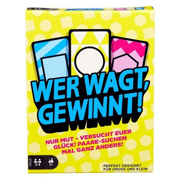 Mattel GTH21 - Mattel Games - Wer wagt, gewinnt!, Kartenspiel