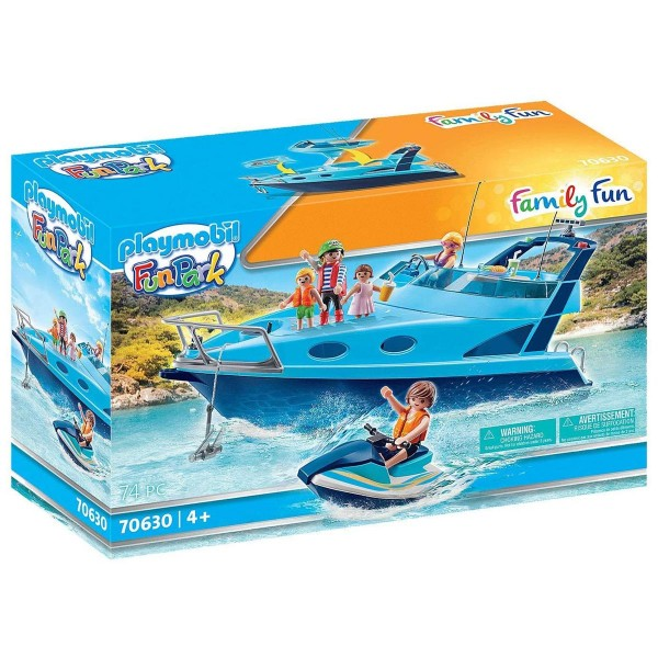 PLAYMOBIL® 70630 - Family Fun - Fun Park - Yacht mit Jet Ski