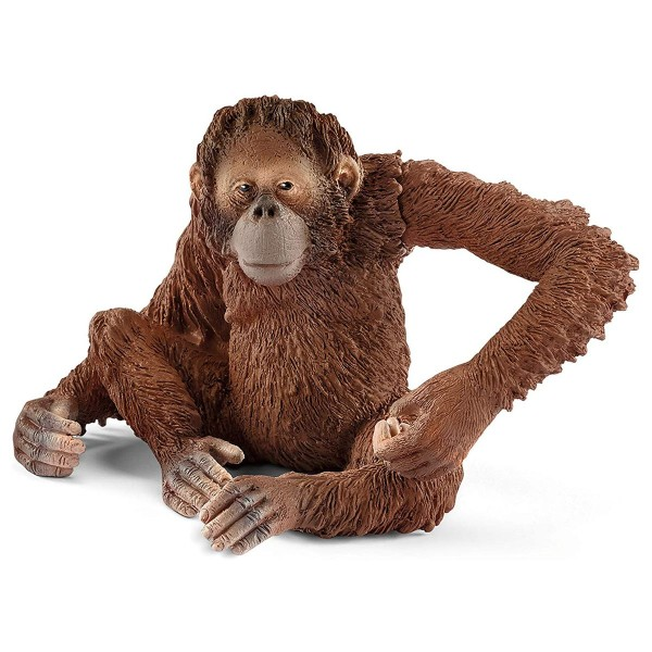 Schleich 14775 - Wild Life - Spielfigur, Orang-Utan Weibchen