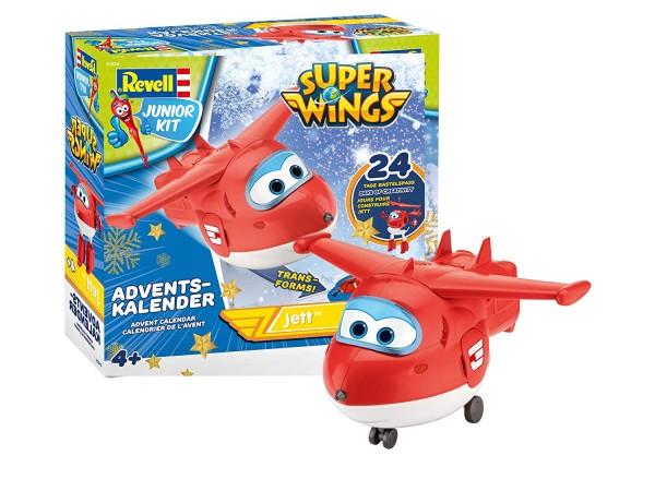 """Revell 01024 - Super Wings - Junior Kit Adventskalender """"Jett"""""""
