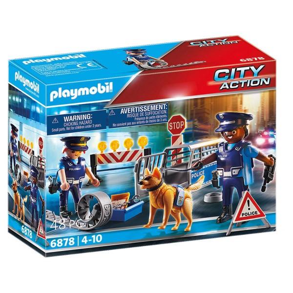 PLAYMOBIL® 6878 - City Action - Polizei Straßensperre