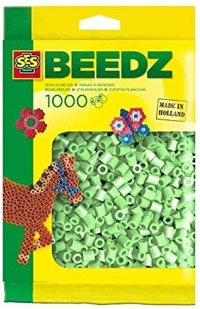 SES 00713 - Bügelperlen minzgrün 1000 Stück