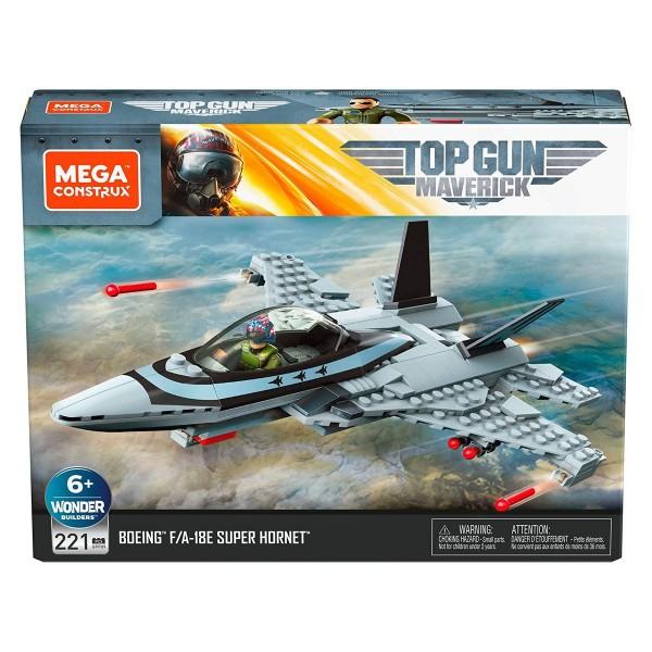Mattel GPP89 - Mega Construx - Top Gun Maverick - Konstruktionsspielzeug, 221 Teile