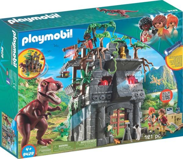 PLAYMOBIL® 9429 - Dinos - Basecamp mit T-Rex und Lichteffekten