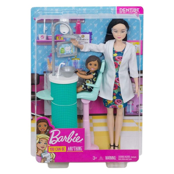 Mattel FXP17 - Barbie - You can be anything - Zahnärztin