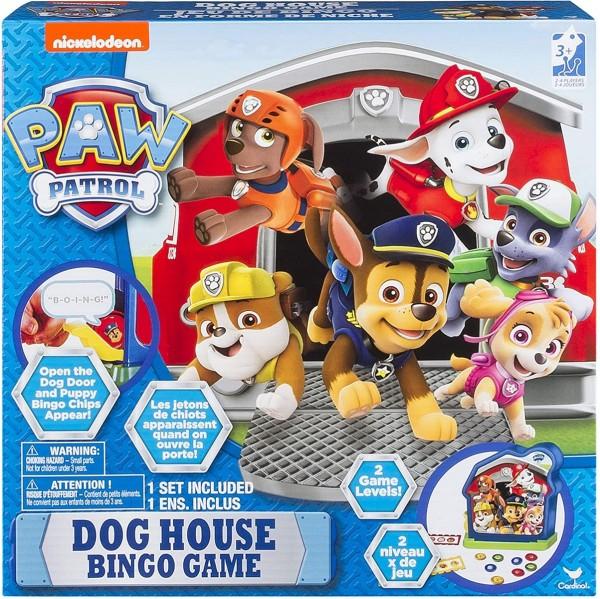 Spin Master 6038341 - Paw Patrol - Spiel, Hund Haus Bingo