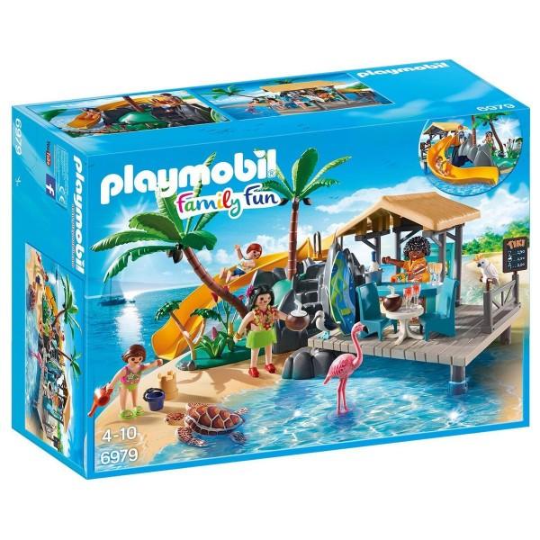 PLAYMOBIL® 6979 - Family Fun - Karibikinsel mit Strandbar