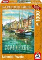 Schmidt 59583 - Premium Quality - Patrick Reid O'brien - Kopenhagen - Puzzle 1000 Teile