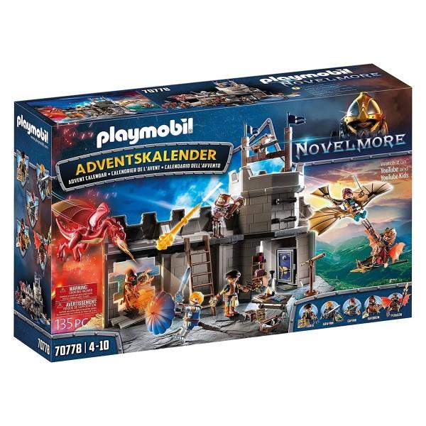 PLAYMOBIL® 70778 - Novelmore - Adventskalender Novelmore Darios Werkstatt