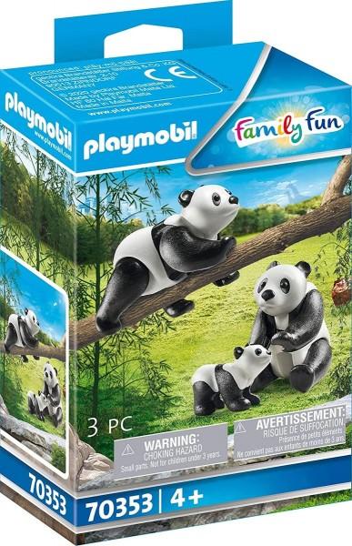 PLAYMOBIL® 70353 - Family Fun - 2 Pandas mit Baby