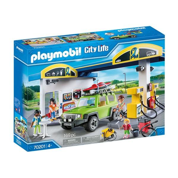 PLAYMOBIL® 70201 - City Life - Große Tankstelle