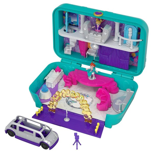 Mattel FRY41 - Polly Pocket - Tanz Party Spielset