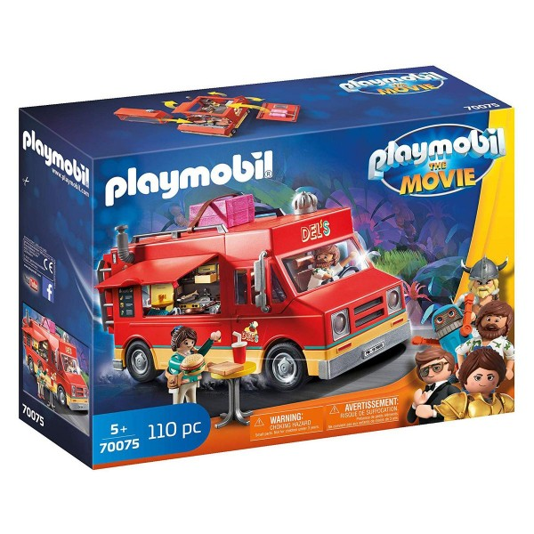 PLAYMOBIL® 70075 - The Movie - Del`s Food Truck