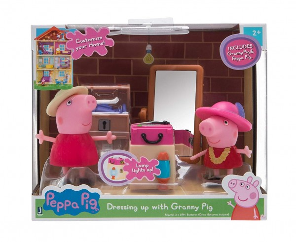 Jazwares 97004 - Peppa Pig - Kostümparty mit Peppa und Oma Wutz