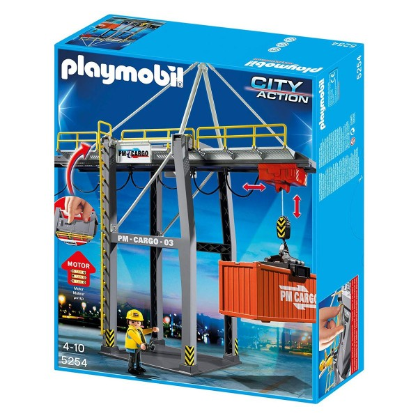 PLAYMOBIL® 5254 - City Action - Elektrisches Verladeterminal
