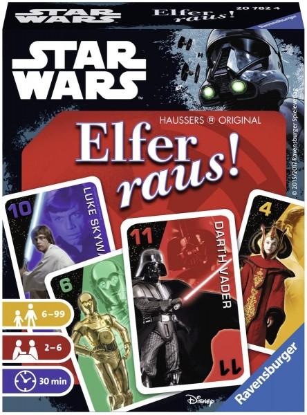 Ravensburger 20782 - Star Wars - Elfer raus, Kartenspiel