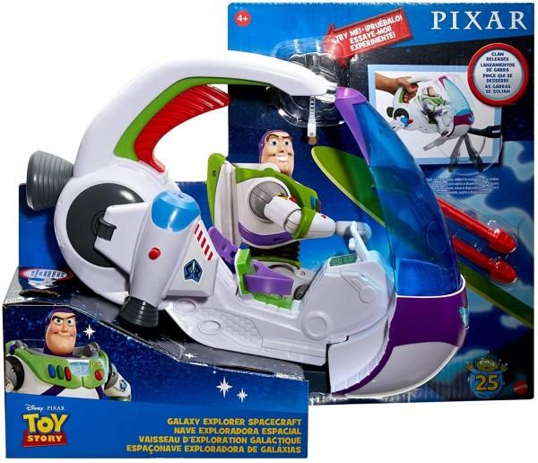 Mattel GNJ48 - Disney Toy Story - Galaxie Entdecker Raumschiff (ohne Figur)