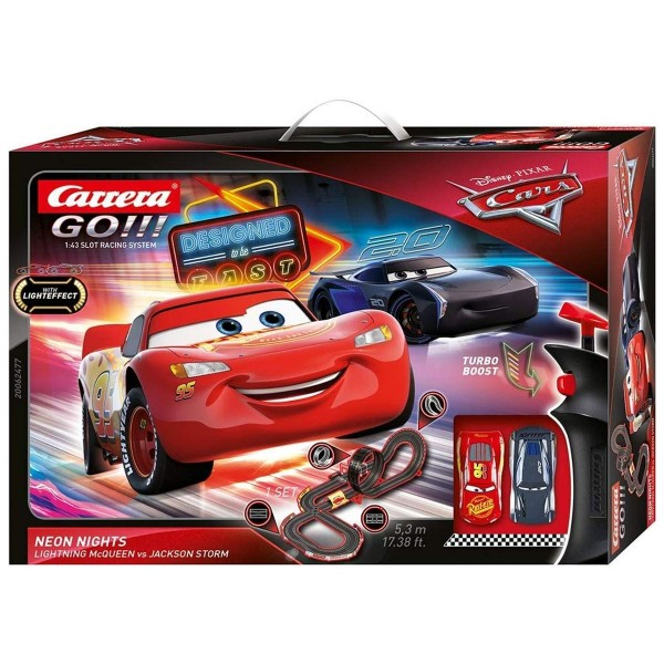 Stadlbauer 20062477 2.Wahl - Carrera - Go!!! - Disney Pixar Cars - Rennstrecke, 5,3 Meter, inkl. 2 F