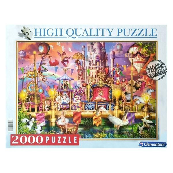"Clementoni 97697 - High Quality Puzzle - Zirkus ""The Circus"", 2000 Teile"