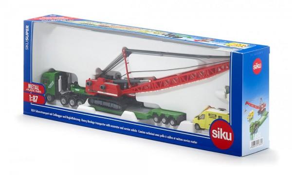 27545-1-siku-1834-schwertransport-mit-seilbagger-und-begleitfahrzeug