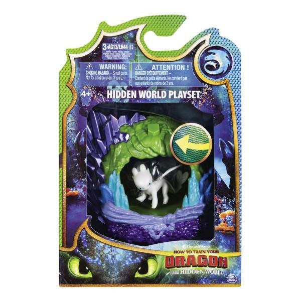 Spin Master 6045086 (20103616) - Dreamworks Dragons 3 - Die geheime Welt Spielset, mit Tagschatten/L