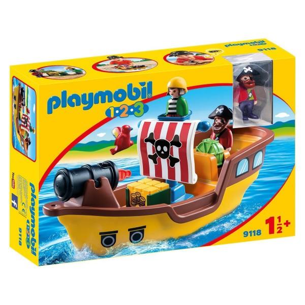 PLAYMOBIL® 9118 - 1•2•3 - Piratenschiff