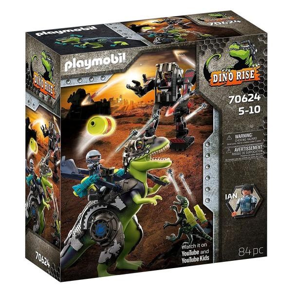 PLAYMOBIL® 70624 - Dino Rise - T-Rex: Gefecht der Giganten