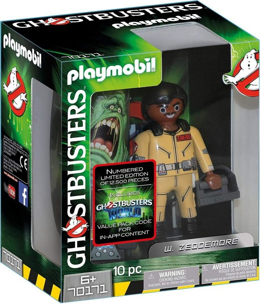 PLAYMOBIL® 70171 - Ghostbusters - Sammelfigur mit Zubehör, W. Zeddemore
