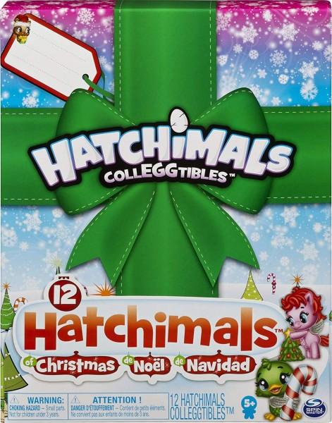 Spin Master 6047118 (20108571) - Hatchimals - Weihnachtsgeschenkset, 12 Hatchimals