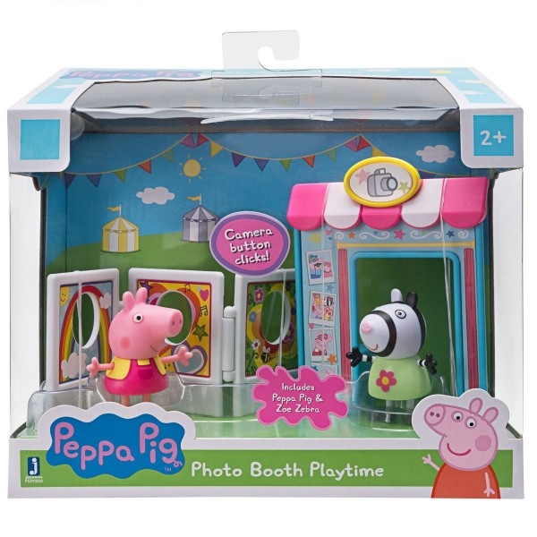 Jazwares PEP0558 - Peppa Pig - Fotoautomat Spielspaß