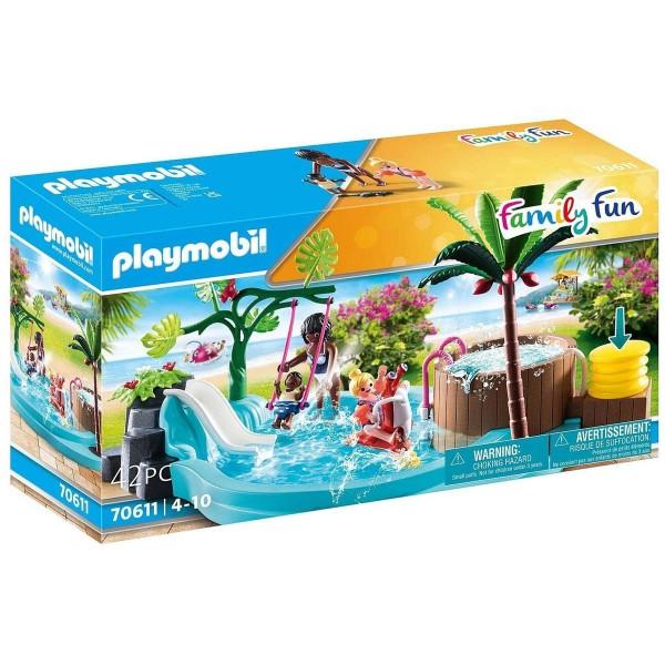 PLAYMOBIL® 70611 - Family Fun - Kinderbecken mit Whirlpool