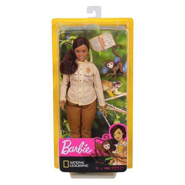 Mattel GDM48-4 - Barbie - National Geographic - Umweltschützerin
