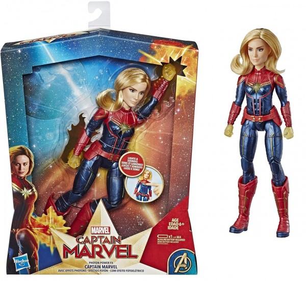 Hasbro E3610 - Marvel Captain Marvel - Spielfigur mit Licht und Sound, Photon Power FX