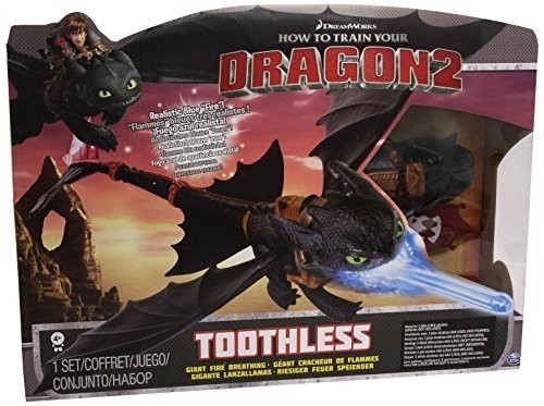 Spin Master 66555 2.Wahl - DreamWorks Dragons - Nightstrike Toothless Deluxe
