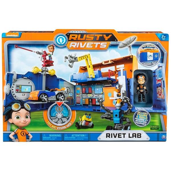 Spin Master 6033865 (20081380) - Rusty Rivets - Labor mit Figur, Spielset