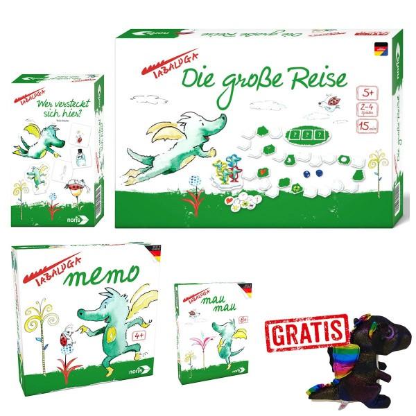 SPAR-SET 176347 - Simba - Tabaluga Spieleset mit GRATIS TY Plüschdrache