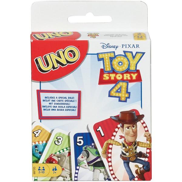 Mattel GDJ88 - Toy Story 4 - Kartenspiel, UNO