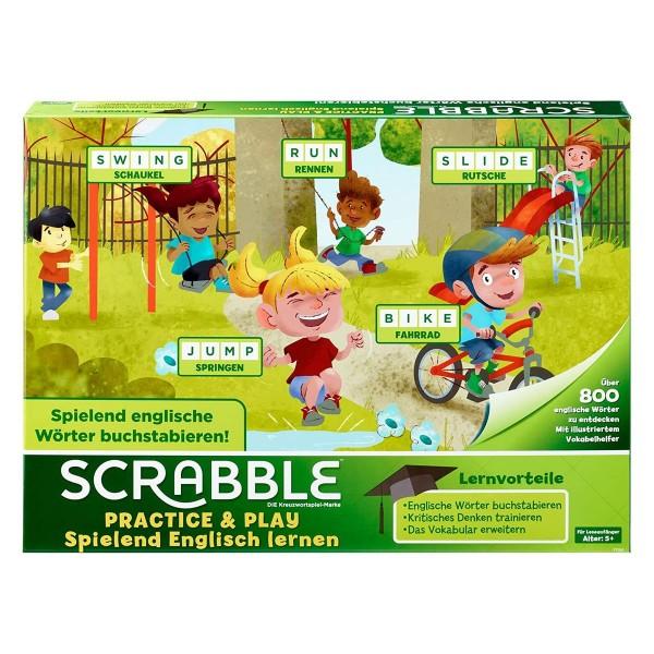 Mattel FTG51 - Scrabble Englisch lernen