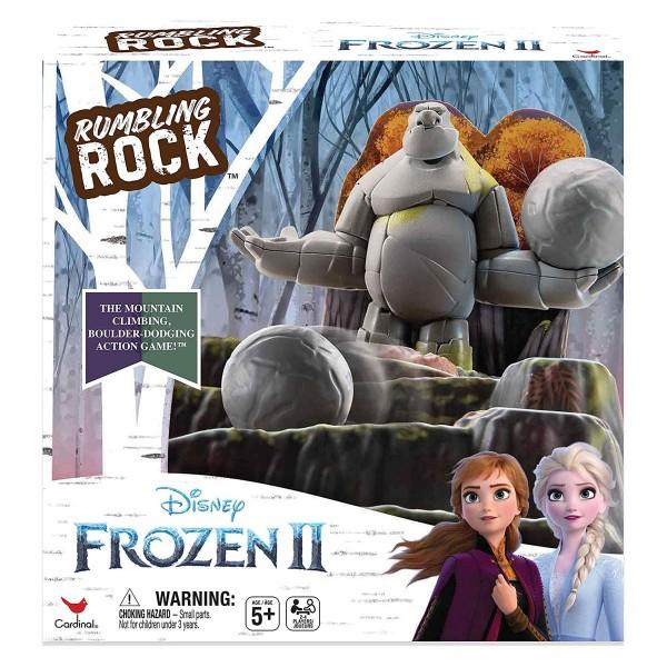 Spin Master 6053993 - Disney Frozen II - 3D-Brettspiel, Rumbling Rock