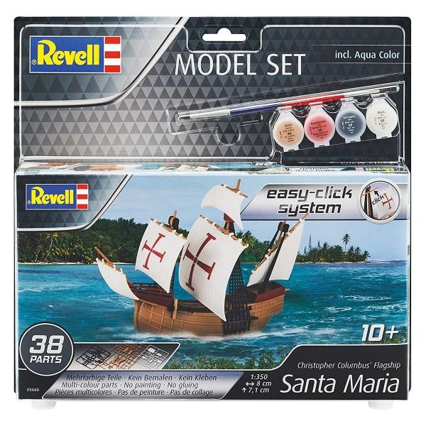 Revell 65660 - Modellbausatz - Santa Maria (UVP 17,99 €)