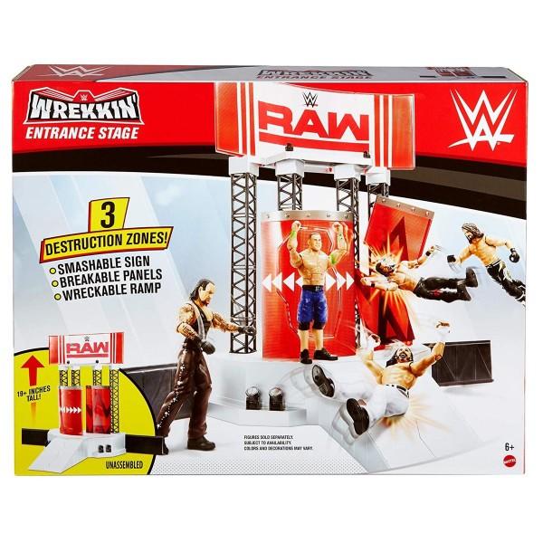 Mattel GNB54 - WWE - Wrekking Entrace Stage - Bühnen-/Arena-Eingang