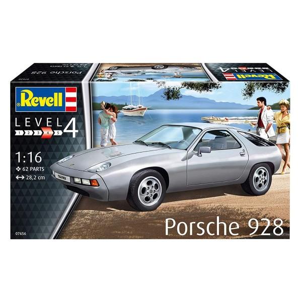 Revell 07656 - Bausatz, Porsche 928; Maßstab 1:16