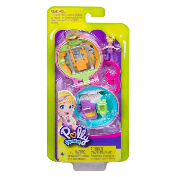 Mattel GKJ42 - Polly Pocket - Mini Schatulle, Spielplatz