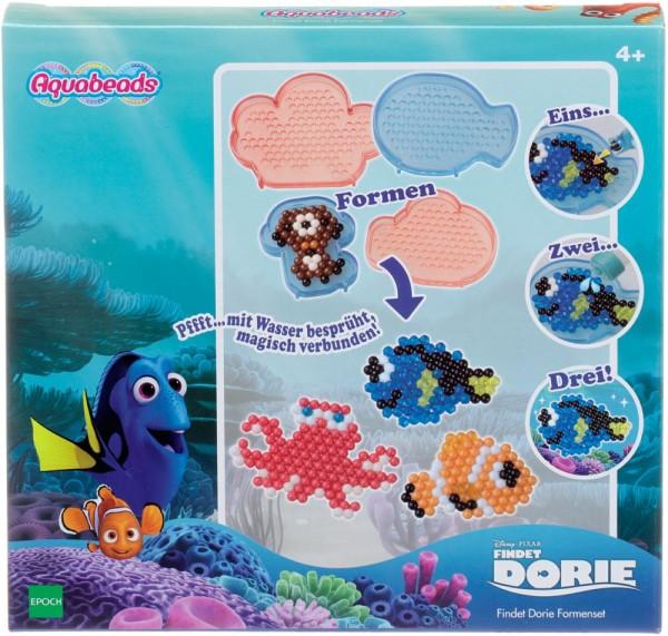 Epoch 30089 - Aquabeads - Disney Findet Dorie - Wasser-Perlen, Formenset