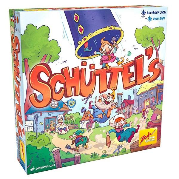 Simba 601105103 - Zoch - Brettspiel, Schüttel´s
